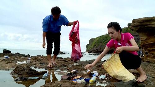 An Trĩ Vương chung tay giữ sạch môi trường biển đảo Lý Sơn cùng HHVN 2016 - 3