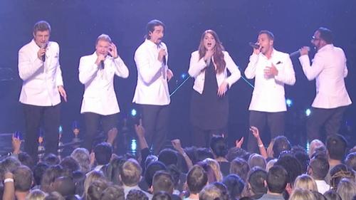 """Backstreet Boys song ca ngọt lịm cùng """"nữ hoàng cover"""" Mỹ - 1"""