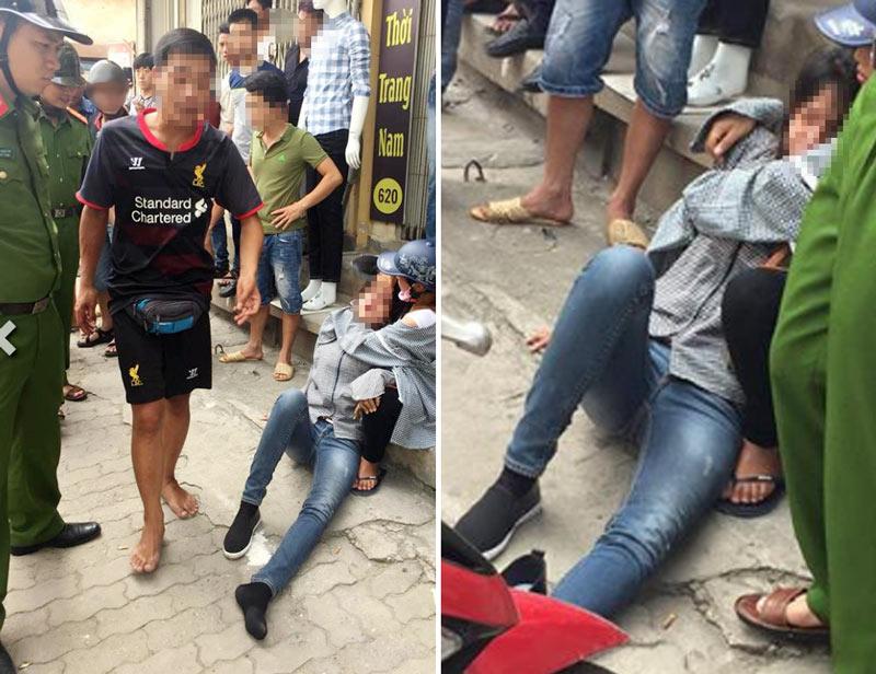 Cô gái bị người yêu đánh đến bất tỉnh giữa đường - 1