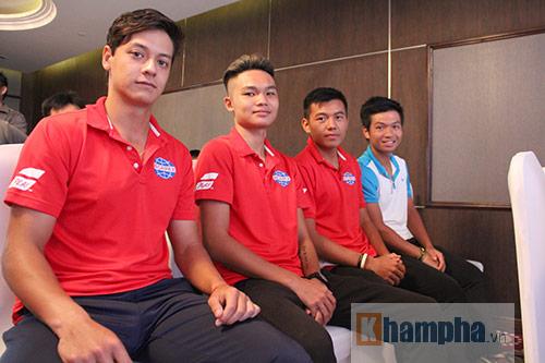 Bung sức trên sân nhà, Hoàng Nam muốn công phá top 500 - 1