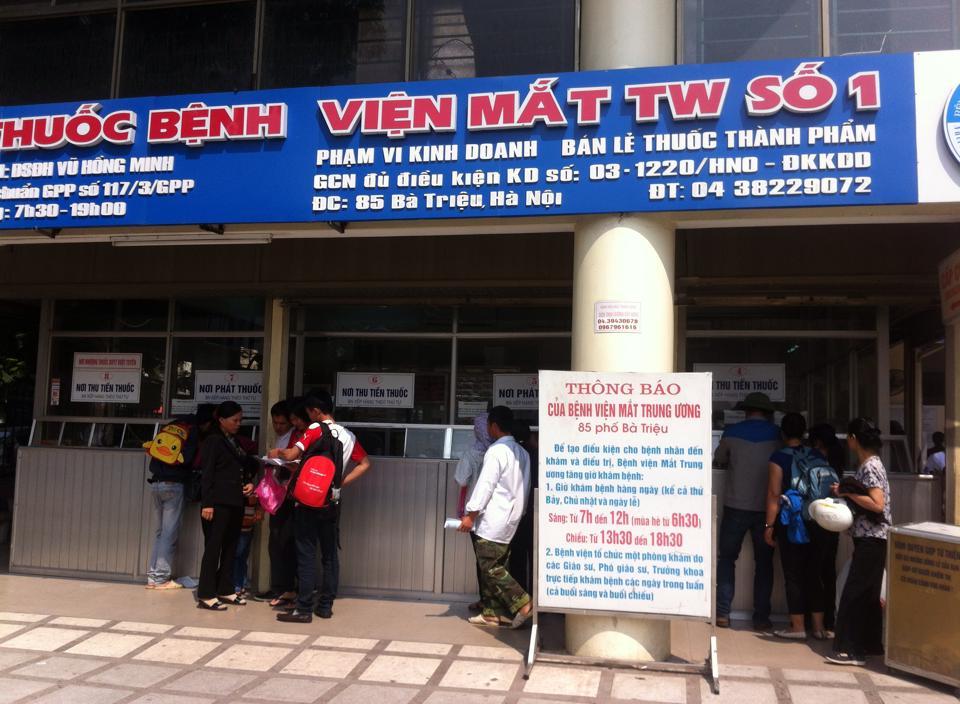 Phớt lờ lời Bộ trưởng, BV Mắt TƯ vẫn không có chỗ gửi xe - 1