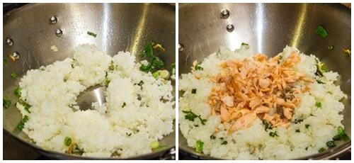 Bữa sáng sang chảnh với cơm rang cá hồi - 4