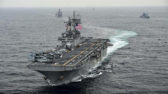 Mỹ tiếp tục hoạt động ở Biển Đông, mặc Trung Quốc - 1