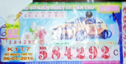 Trộm tờ vé số trúng thưởng 10 triệu đồng để… làm từ thiện - 1
