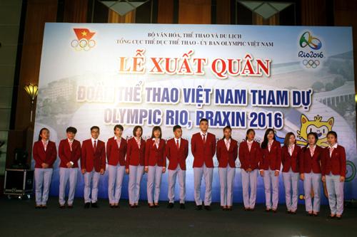 """Thể thao Việt Nam quyết tạo """"cú sốc"""" ở Olympic 2016 - 1"""