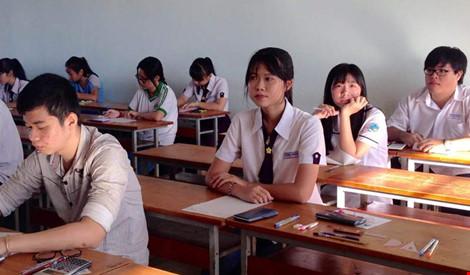 Trường ĐH Luật TP.HCM công bố nhầm điểm thi môn tiếng Anh - 1