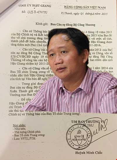 Hậu Giang chủ động xin ông Trịnh Xuân Thanh - 1
