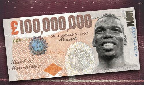 """Mua Pogba 100 triệu bảng, MU sẽ là 1 """"Galacticos"""" mới? - 1"""