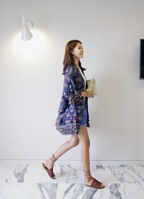 Áo khoác chiffon – chất xúc tác cho mọi phong cách mùa hè - 6