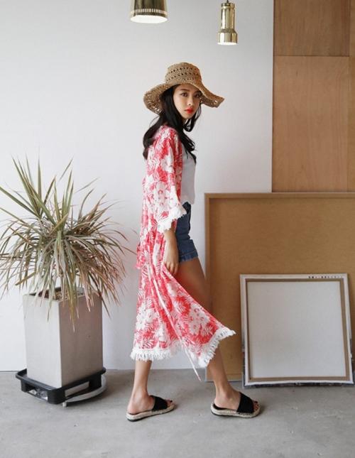 Áo khoác chiffon – chất xúc tác cho mọi phong cách mùa hè - 8