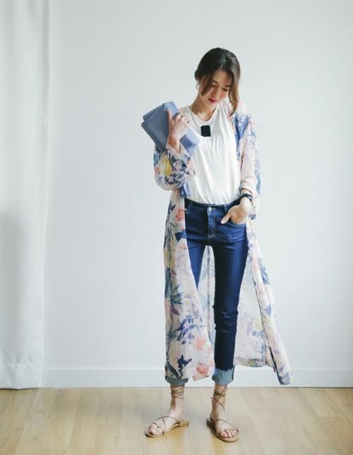 Áo khoác chiffon – chất xúc tác cho mọi phong cách mùa hè - 11
