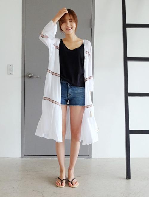 Áo khoác chiffon – chất xúc tác cho mọi phong cách mùa hè - 10