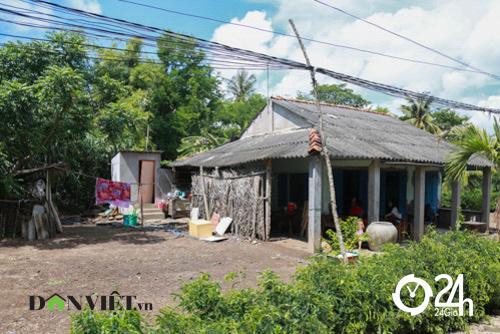 Nhà đơn sơ ở quê của Hồ Văn Cường - 1