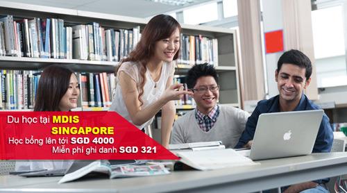 Du học Singapore tại Học viện phát triển quản lý Singapore MDIS - 1