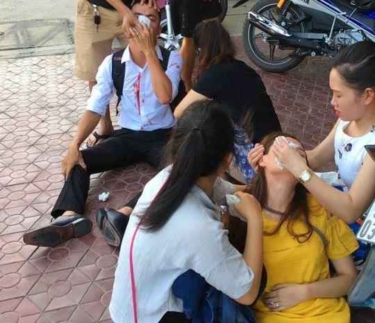 Vợ chồng sắp cưới bị đánh: Triệu tập con Phó CT huyện - 1