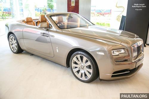 Xế siêu sang Rolls-Royce Dawn ra mắt, giá 1 triệu đô - 1