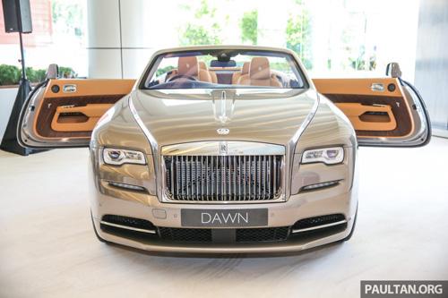 Xế siêu sang Rolls-Royce Dawn ra mắt, giá 1 triệu đô - 3
