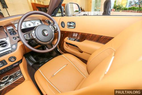 Xế siêu sang Rolls-Royce Dawn ra mắt, giá 1 triệu đô - 4