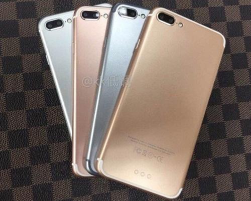 4 phiên bản màu sắc khác nhau của iPhone 7 Plus - 1