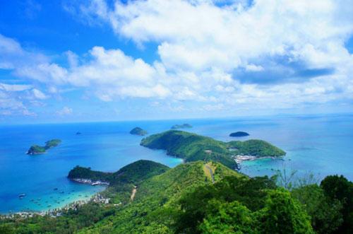"""Ra đảo Nam Du """"trốn nóng"""" - 1"""