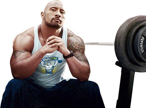 """Người hùng """"The Rock"""" ăn 7 bữa, 5kg thịt/ngày - 1"""