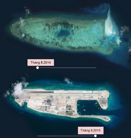 3 năm TQ xây đảo nhân tạo tàn hại Biển Đông thế nào - 1