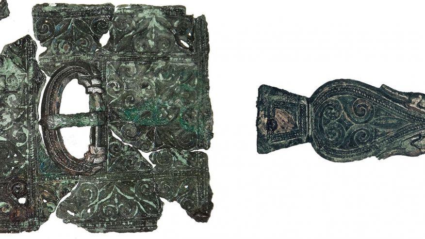 Anh: Phát hiện hài cốt lính La Mã 1.600 năm trong mộ cổ - 2