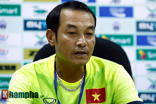 Thua U16 Việt Nam, HLV đội U16 Campuchia bật khóc - 1