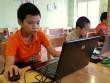 Học sinh Tiểu học hứng thú tham gia lớp học lập trình