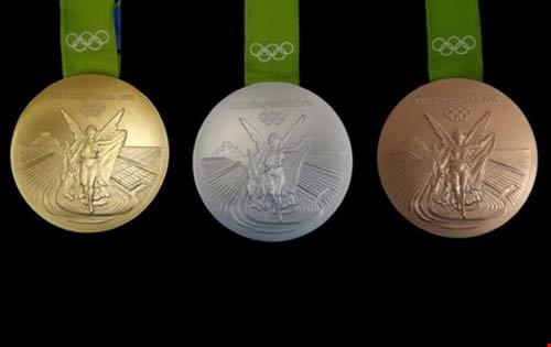 Ý nghĩa và chất liệu của những tấm huy chương Olympic Rio - 1