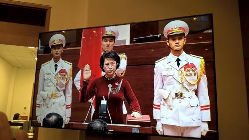 Chủ tịch Quốc hội Nguyễn Thị Kim Ngân tuyên thệ nhậm chức - 1