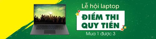 Mua Laptop: Điểm thi càng cao, giảm tiền càng nhiều - 1