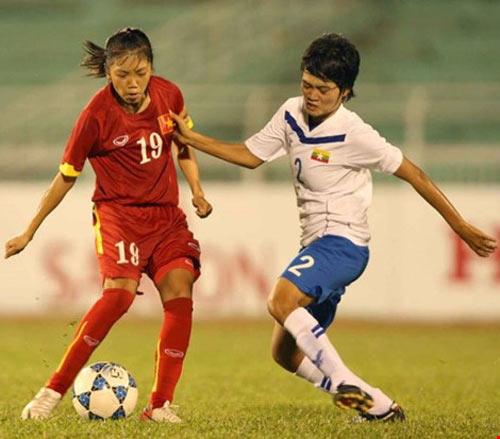 Tuyển nữ quyết vô địch AFF Cup - 2