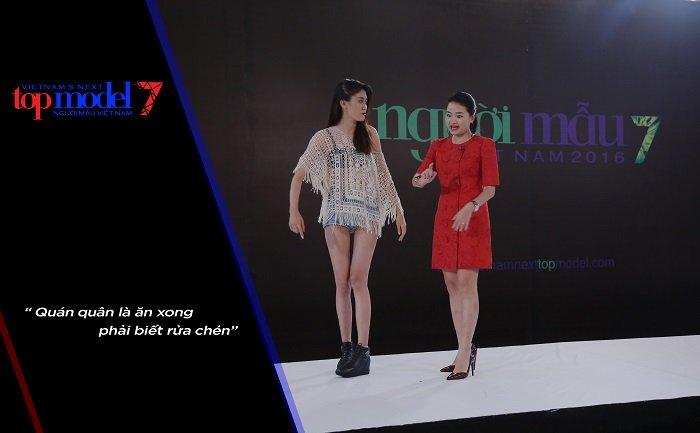 """Phát ngôn """"bá đạo"""" của 4 giám khảo Vietnam's Next Top - 6"""