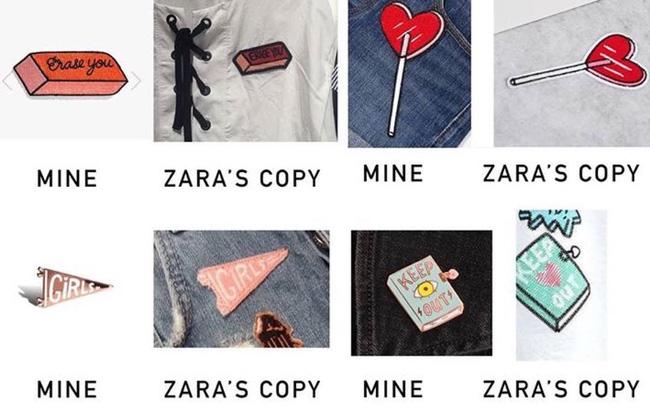 """Những lần Zara """"muối mặt"""" vì đạo nhái trắng trợn - 1"""