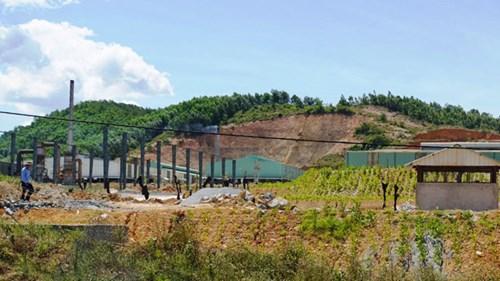 Cận cảnh nhà máy xử lý rác thải Formosa khiến dân phải bỏ đi - 1