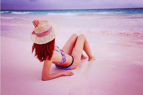 Sự thật về bãi biển cát hồng đẹp như mơ ở Bahamas - 3