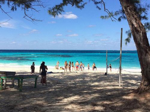 Sự thật về bãi biển cát hồng đẹp như mơ ở Bahamas - 8