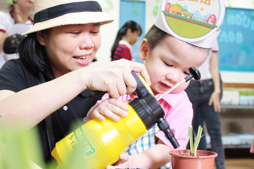 Trải nghiệm nông trại khó quên tại Saigon Academy - 2
