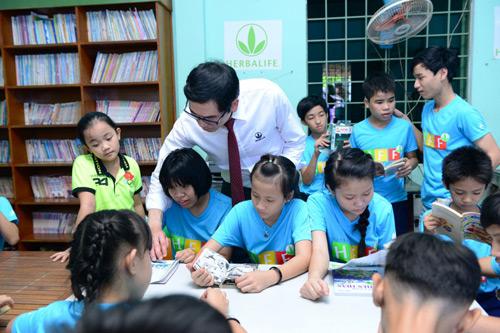Casa Herbalife - chung tay cùng cộng đồng chia sẻ nỗi lo cho trẻ em cơ nhỡ - 2