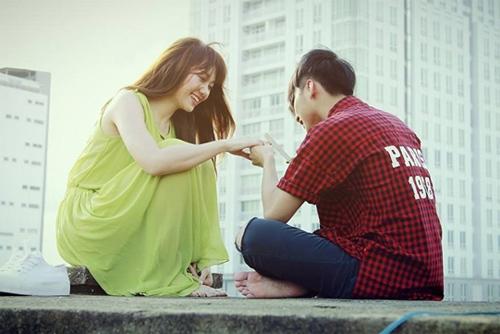 Video phim: Hari Won hôn và muốn có con với Sơn Tùng - 2