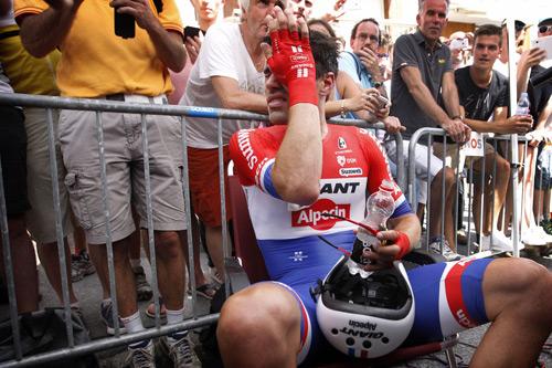 Tom Dumoulin về thứ nhì tại chặng 18 giải đua Tour de France 2016 - 5