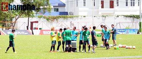 Quyết đấu U16 Việt Nam ở chung kết, U16 Úc tập kín - 1