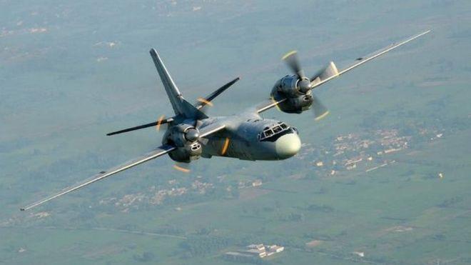 Máy bay quân sự Ấn Độ chở 29 người mất tích - 1