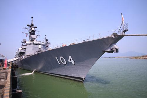 Tàu lực lượng bảo vệ bờ biển Nhật Bản sắp đến thăm Đà Nẵng - 1