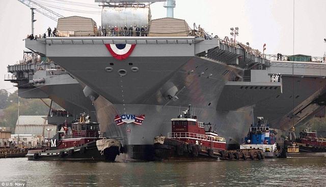 Siêu tàu sân bay đắt nhất của Mỹ không hoạt động được - 2