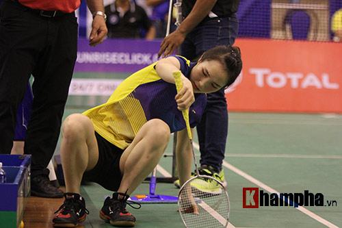 Bạn gái Tiến Minh khóc vì chấn thương, lo ngại Olympic - 2