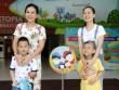 MC Xuân Hiếu, Ngọc Hương cùng con trải nghiệm truyền hình thực tế