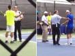 """2 siêu quậy tennis nổi điên """"sống mái"""" với cảnh sát"""