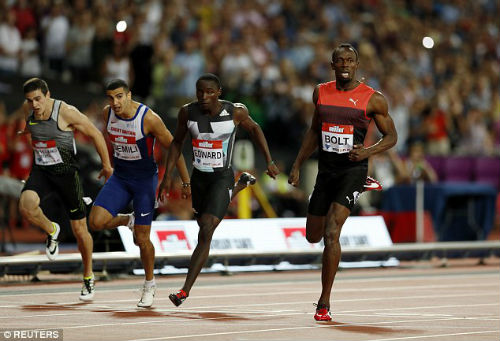 Tin thể thao HOT 23/7: Usain Bolt giành HCV 200m trước thềm Olympic - 1